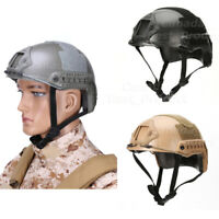 Tactical Airsoft Fast MH Type Helmet Low Price Version w Rails NVG Mount