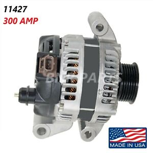 300 Amp 11427 Alternator Ford Mustang Shelby GT500 High Output Performance HD