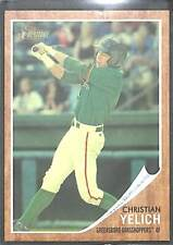 2011 Topps Heritage Minor League Green Tint #49 Christian Yelich No 212 of 620