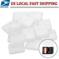 20 Pack SD Card Holder PRO DUO SDHC MMC Memory Card Storage Box Protective Case