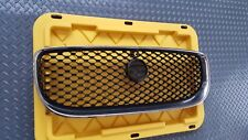 Jaguar XE Chrome Grille with Black Mesh and Camera Hole