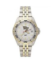 *NEW* NCAA Wake Forest Demon Deacons Men's All Star Stainless Steel Watch