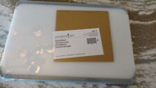 Pampered Chef Mint Condition Cutting Board, white, 13 x 9, FREE SHIPPING! #1012