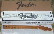 "Fender® Roasted Maple Tele Neck~22 Jumbo Frets~12"" Radius~Flat Oval~Brand New"