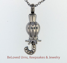 Umbrella Cremation Jewelry Keepsake Urn Pendant  Memorial Necklace Ashes, Funnel