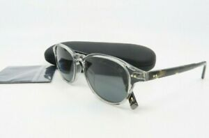 John Varvatos V600 UF New Grey Crystal Polarized Sunglasses 52mm with case