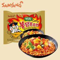 Samyang Ramen Korean Noodles Hot/Mild / Stir Fries/Soups (Buldak Curry.2Pack)
