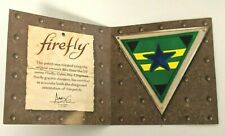 Loot Crate Exclusive Firefly Independents Patch Green Triangle Star Serenity