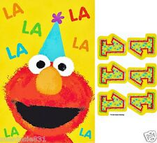 Sesame Street Elmo 1st Birthday Party Game 1ct Party Favors Supplies
