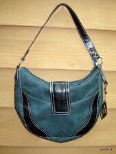 VICTORIA SECRET *Pear Glace* GARDEN Purse/Handbag green/black Hobo style