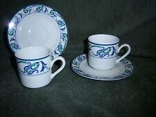Miniature Cup & Saucer 1 Set Lafayette Porcelaine