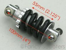 """4"""" Rear BLACK Shcok A for APC Kid Mini Choppers, Chinese parts"""