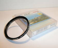 QUALITY HAMA 49mm SKYLIGHT FILTER , CASED & CLEAN .