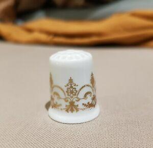 Limoges Bernardaud Porcelain  Collectible Thimble