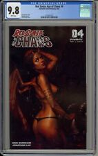 """RED SONJA: AGE OF CHAOS #4 - CGC 9.8 - COVER """"A"""" BY LUCIO PARRILLO - 3716927027"""