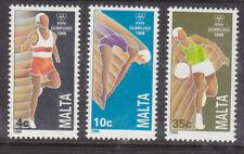 Malta 1988 Olympic Games  set MNH