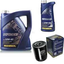 Inspektionspaket Filter Set MANNOL 10W40 Motoröl+ VW Passat Variant 10190667