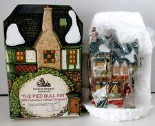 New 1993 Dept. 56 The Pied Bull Inn Ornament Dickens Village Heritage Nib