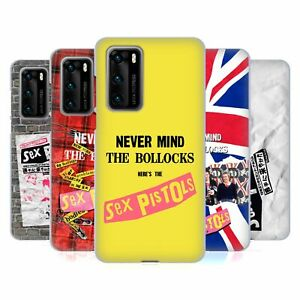 OFFICIAL SEX PISTOLS BAND ART GEL CASE FOR HUAWEI PHONES