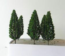10 x SLIM MODEL FIR TREES 13 cm SCENERY FOR MODEL RAILWAY HO / OO SCALE NEW B2L8