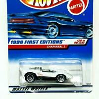 1998 Hot Wheels First Editions 28/40 Chaparral 2 White Lace Wheels LW #669