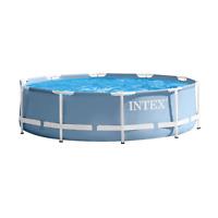 Intex 28702 piscina da giardino fuori terra rotonda diametro 305x76 cm con fi...