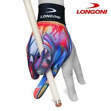 LONGONI Billiard POOL CUE GLOVE Leonardo 3 for Left hand + FREE SHIPPING!