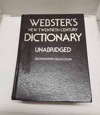 Original 1976 Webster's New Twentieth Century Dictionary - Unabridged