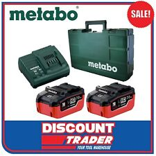 Metabo 18V 7.0Ah Starter Pack 2x Lithium-Ion Batteries 1x ASC 30 - AU32100089