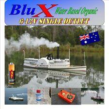 RC Model Boat Smoke Generator 6-8 Volt BluX Super Smoker Free BluX Fluid