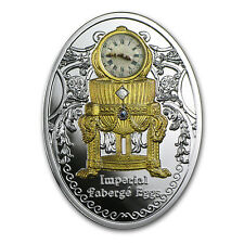 2015 Niue Silver Imperial Faberge Eggs Third Imperial Egg - SKU #86053