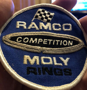 Vintage Ramco Moly Rings Competition Embroidered  Patch