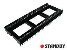 4pcs 64 PIN  DIL DIP IC SOCKET PCB MOUNT CONNECTOR  Pitch 1,778mm