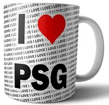 I Love PSG Tea - Coffee - Mug - Cup - Birthday - Christmas - Gift