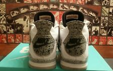 Nike Air Jordan Retro 4 IV OG WHITE CEMENT shoes SZ 12