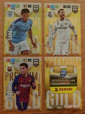 Panini Adrenalyn XL Fifa 365 2020 Premium Gold Limited Edition 4er Set