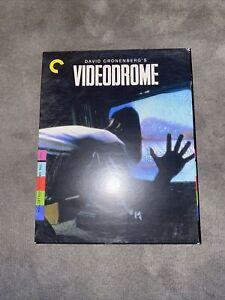 THE CRITERION COLLECTION: VIDEODROME (Cronenberg) - VGC! BLURAY - Free Postage!