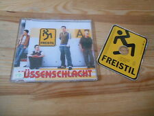 CD Pop Freistil - Küssenschlacht (3 Song) BMG ARIOLA sc / shaped disc