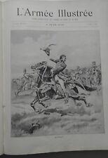 L'Armée illustrée 1899 Revue des Armées reliée 1mai 1899 a janvier 1900