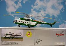 Herpa Wings 1:200 MIL MI-8  Polizei Brandenburg D-HOZH  554893