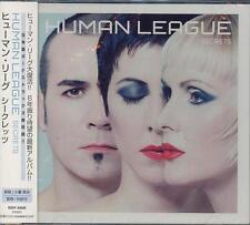 "HUMAN LEAGUE ""SECRETS"" JAPAN CD +3 BONUS TRACKS BSCP-30008 *SEALED*"