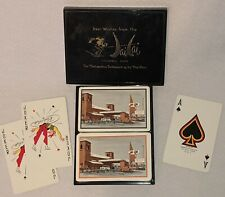 1002 Aladdin playing cards new /& sealed Green /& Red pair by USPCC
