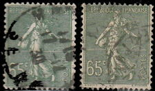 France 1927 #  YT 234 [par 2] - 65 c. semeuse lignée