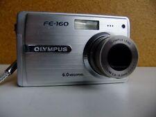 Olympus FE-160 6.0MP Digital Camera - Silver