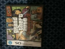 Grand Theft Auto: Chinatown Wars (Nintendo Ds, 2009) Complete