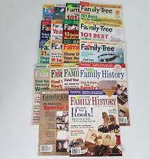 Family Tree Magazine Lot Set 18 Chronicle Trace Your History