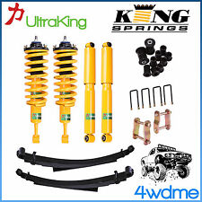"Nissan Navara D40 Front Rear Shock + KING Coil Spring + Leaf Spring 2"" Lift Kit"