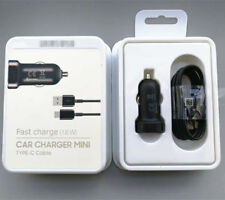 Original Adaptive Fast Car Charger OEM USB Type-C For Samsung Galaxy S9 S8 Plus