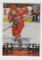 (70300) 2008-09 UPPER DECK YOUNG GUNS BRANDON SUTTER #204 RC