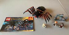 Lego Lord of the Rings SHELOB ATTACKS 100% Complete w/Minifigures & Instructions